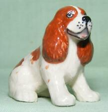 Klima Miniature Porcelain Animal Figure Brown Spaniel L900