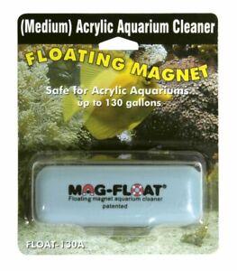 Mag-Float Floating Magnet Acrylic Aquarium Cleaner Medium