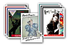 DAVID BOWIE  - 10 promotional posters - collectable postcard set # 3