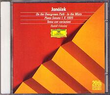 Rudolf FIRKUSNY: JANACEK Piano Sonata On the Overgrown Path In the Mists CD