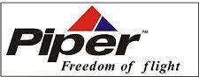 A125 Piper Freedom of Flight Airplane banner hangar garage decor Aircraft signs