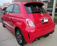 Fits: Fiat 500 2012+ Rear Spoiler (Larger Version) Primer Finish