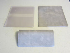 1 NEW GREY MARBLE VINYL CHECKBOOK COVER WITH DUPLICATE FLAP CHECK BOOK COVERS