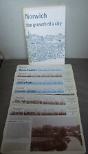 Norwich -  The Growth of A City - Barbara Green 1975 + Water Transport Ref Cards