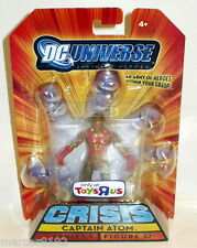 "Dc Universe Crisis Captain Atom Action Figure 4"" Toys-R-Us only New"