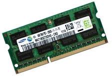4GB Speicher für Notebooks mit Core i7-3612QM SO DIMM RAM Samsung DDR3 1600 Mhz