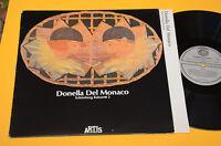 DONELLA DEL MONACO LP SHONBERG KABARETT 1°ST ORIG ITALY PROG EX AVANT GARDE !!!