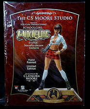 Witchblade Clay Moore Red Variant Ponytail School Girl Statue Special Price New