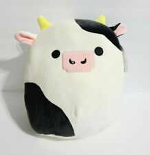 Squishmallow Clover The Bull Cow 12 Inch Kellytoy Marshmallow Soft Plush