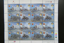 Bahrain stamps 2019 Police sheetlet of 2 sets MNH