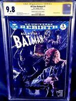 DC Comics ALL-STAR BATMAN #1 CGC SS 9.8 JOKER CATWOMAN WEDDING GOTHAM HARLEY IVY