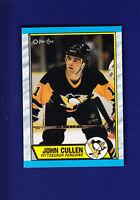 John Cullen RC 1989-90 O-PEE-CHEE OPC Hockey #145 (MINT) Pittsburgh Penguins