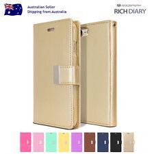 iPhone 8 7 6 S Plus 5 SE C Mercury Card Luxury Wallet PU Leather Flip Case Cover