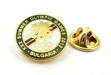 BULGARIAN OLYMPIC COMMITTEE NOC BULGARIA 2012 LONDON OLYMPICS OLYMPIC PIN RARE