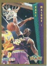 Cartes de basketball Fleer Karl Malone