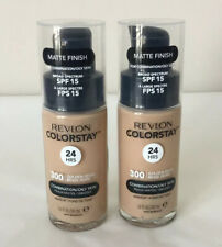 Revlon 2-pack Colorstay 24hr Makeup Combination Oily Skin 300 Golden Beige G12-1
