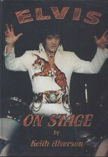 ELVIS ON STAGE BY KEITH ALVERSON 112 PAGES +100 PHOTOS NOVEMBER 2000 RARE SEALED