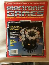 Electronic Games magazine March 1982
