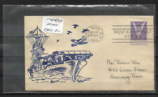 US 1943 WW-2 Rare Cachet Cover Ships,Aircraft carriers,VF-XF !!! (PT-1)