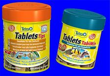 Tetra Tablets TabiMin 120 Tabs and Tablet Tips 165 tabs Combi pack Fish food