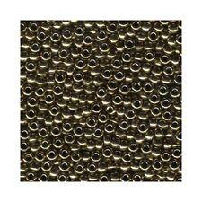 New listing Miyuki Seed Beads 6/0 Metallic Bronze 6-457 Glass 20g in Tube Round