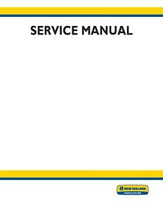 New Holland Workmaster 25S Tractor Service Repair Manual