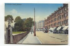 Dalmuir - Dumbarton Road, shops & tram - REPRODUCTION postcard