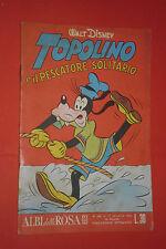 ALBI DELLA ROSA- POI albi di TOPOLINO - N°331 -mondadori disney anno 1961 -casa