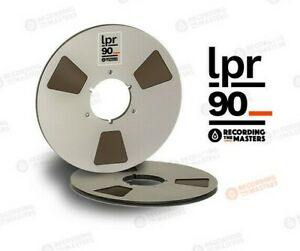 "RTM LPR90 1/4"" x 3600' Analog Recording Tape - 10.5"" Metal Reel w/ Box NEW"