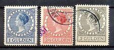 Nederland  163 - 165 B gebruikt