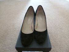 Hobbs Negro Tribunal Zapatos De Gamuza, 37, 4.5