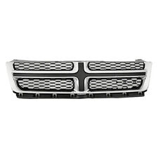 New Front Grille Matte Gray with Chrome Molding 68081992AD P