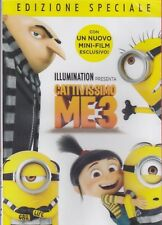 Dvd DESPICABLE ME 3 with MINIONS new 2017