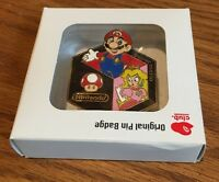 Club Nintendo Original Pin Badge Super Mario