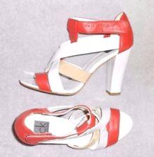 CALVIN KLEIN sandales modèle ASHLEY cuir multicolore  P 39 TBE