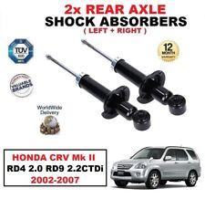 2 X Hinterachse Stoßdämpfer für Honda Cr-V Mk II RD4 2.0 RD9 2.2 Ctdi 2002-2007