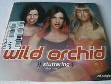 WILD ORCHID: STUTTERING (DON'T SAY) [2-track CD Single, 2001, RCA] NEW & SEALED!