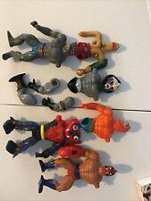 MOTU He-Man misc body parts action figures 1980s