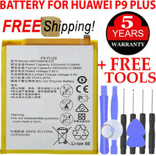 Replacement For Huawei P9 Plus VIE-L29 L09 AL10 3320mAh HB376883ECW Battery