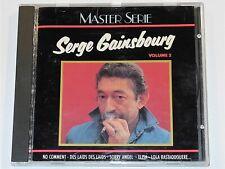 Serge Gainsbourg MASTER SERIE Volume 2 CD (VG+)