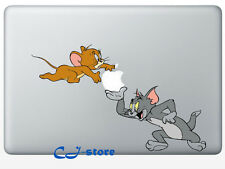 Tom & Jerry Macbook Stickers Macbook Air Pro Decals Skin for Macbook Decals TJ