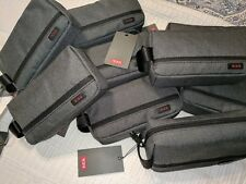 With Tags Tumi Cord Pouch Grey black Rectangular Shape. 87428006234d5