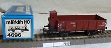 (7163-027) Märklin 4696 DRG offener Güterwagen gebraucht in OVP