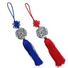 Set of 2 Norigae Korean Traditional Clothing Hanbok Ornaments Accessory Blue Red