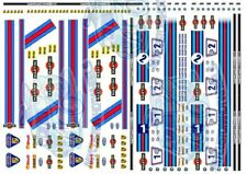 Martini Racing - Decals for Hot Wheels & 1:64 Scale Diecast Cars