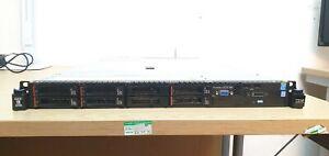 IBM X3550 M4 Server 2x 6Core Xeon E5-2620 V2 CPU 64GB RAM 1.8TB SAS 1U Server