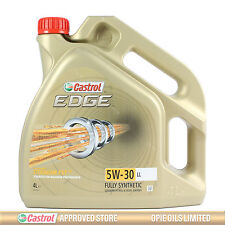 Castrol EDGE Titanium FST 5W-30 LL Full Synthetic Engine Oil 4 Litres 4L