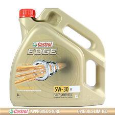 Castrol EDGE Titanium FST 5W-30 LL Full Synthetic Engine Oil 4 Litres 4L
