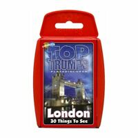 Top Trumps - London 30 Things to See Card Game