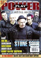 POWER Rock & Metal Magazine July 2017 Stone Sour-Rage-Mr Big-Shinedown-Wintersun